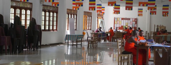 Mahavihara Maha Pirivena - Asgiriya-Kandy